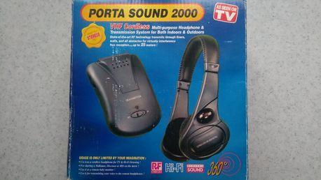 Słuchawki bezprzewodowe PORTA SOUND 2000