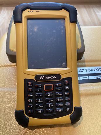 Topcon GPS приёмник и контроллер