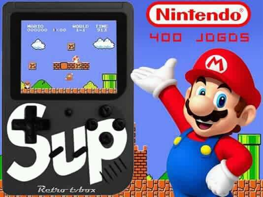 Consola Retro SUP 500 Jogos  5 cores disponíveis