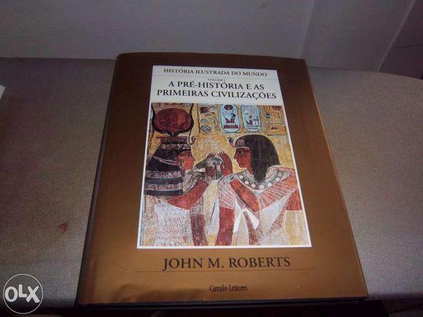 Colecção de 10 volumes de História ilustrada do Mundo