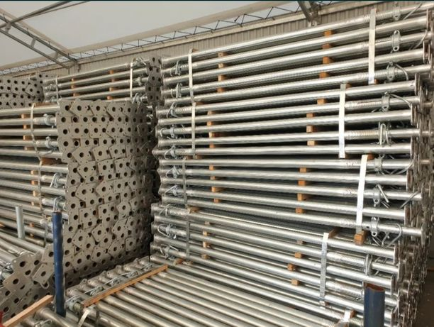 Podpory budowlane 20kN ocynkowane, Stemple Budowlane 100 sztuk 200/350