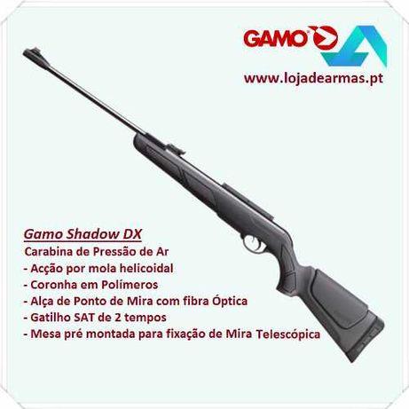 """Pressão de Ar Gamo Shadow DX - carabina 4,5mm ( Classe """"G"""" )"""