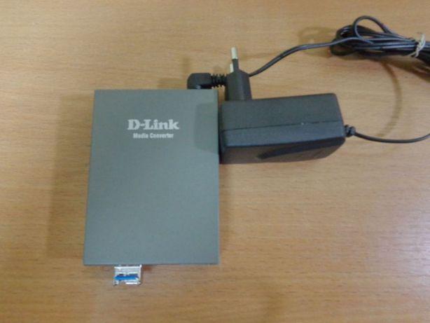 Медиаконвертер D-Link DMC-G01LC + Модуль SFP TopStar TOP-BIDI-155M-20A