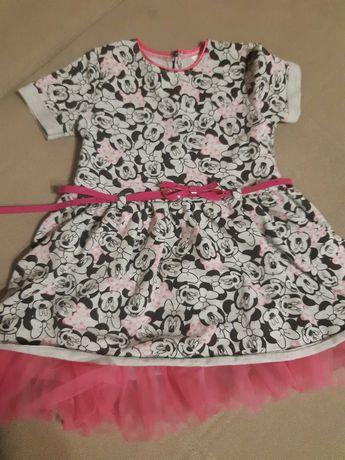 Sukienka 104 myszka miki