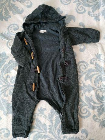 Комбинезон 68 для малыша на теплой подкладке