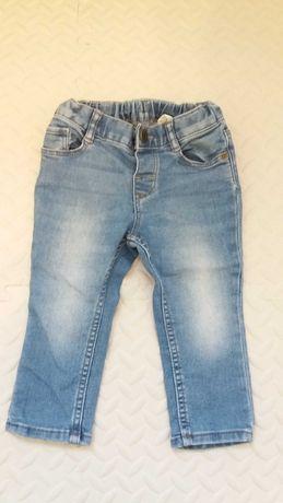 Spodnie jeansy hm 80
