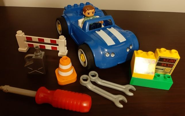 Lego duplo samochod