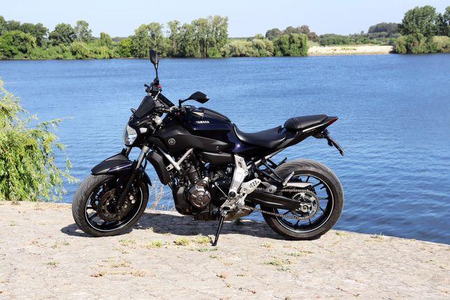 Yamaha MT 07 (Akrapovic - 55kw) disponível desde 128€ mês