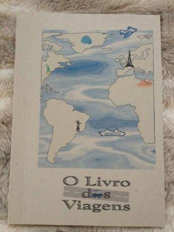"""Caderno """"O livro das viagens"""""""