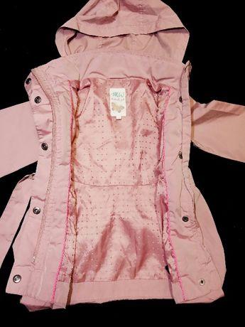 Плащ Butter fly Girl ветровка курточка дождевик девочке на 2-3 года