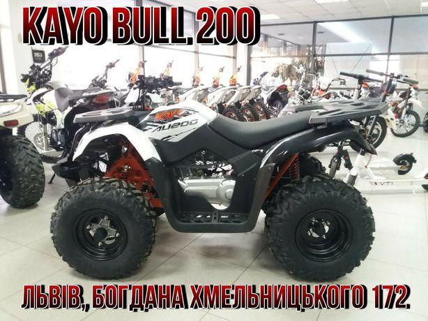 Квадроцикл KAYO BULL 200L Kредит під  6% ! Доставка!!!