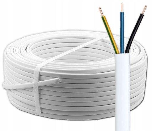 Przewód Elektryczny 3x1,5 3x2,5 5x1,5 YDY / YDYp 750V ELEKTROKABE