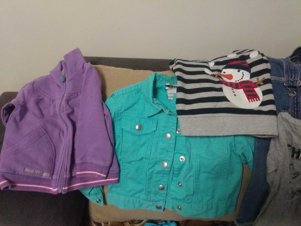 Ubranka dla dziewczynki 80-110