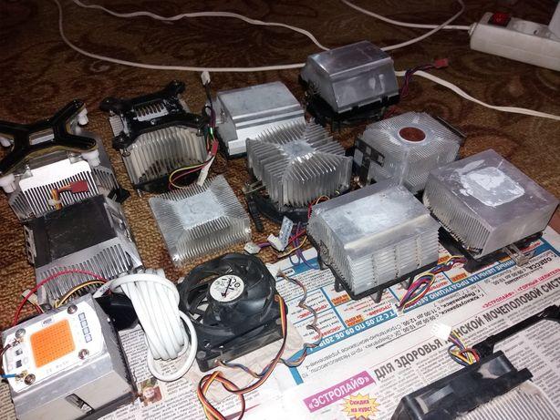Радиаторы с кулерами для умельцев
