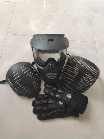 Maska i rękawiczki (paintball)