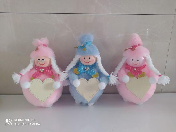 Słodkie laleczki na każdą okazję ręcznie robione