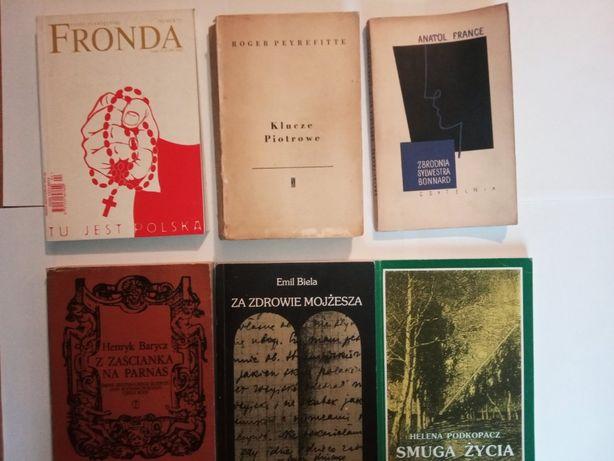 Książki France, Peyrefitte, , Biela, Barycz i inne