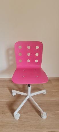 Krzesło obrotowe IKEA różowe