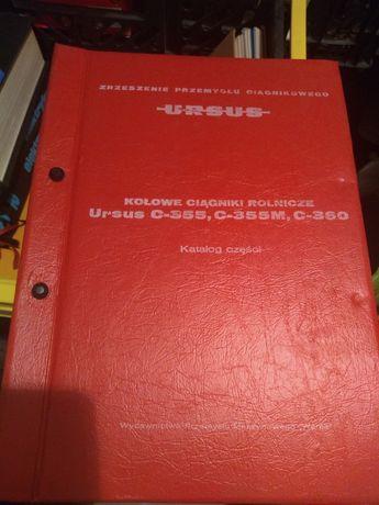 Katalog części zamiennych Ursus C-360