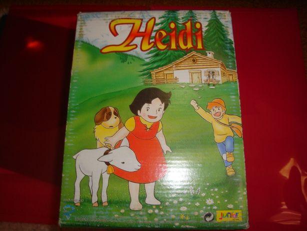 Coleção VHS da Heidi