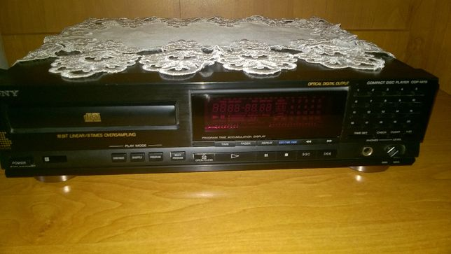 Sony Compact Disc Player CDP-N79 Audio