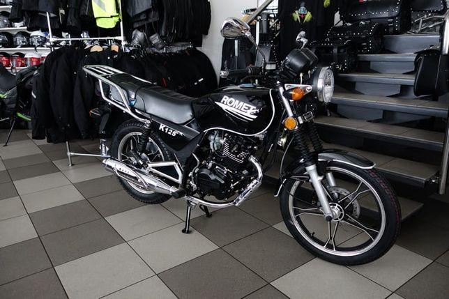 Motocykl Romet K125 Raty 0%, Transport cały kraj 0zł, Rybnik