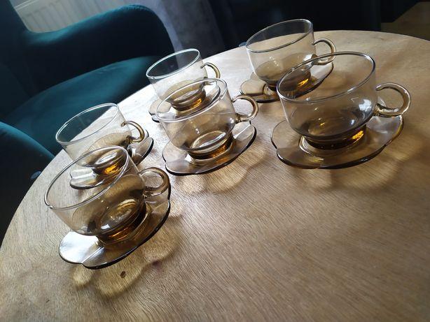Komplet 6 szt. filiżanek herbacianych filiżanka filiżanki duralex