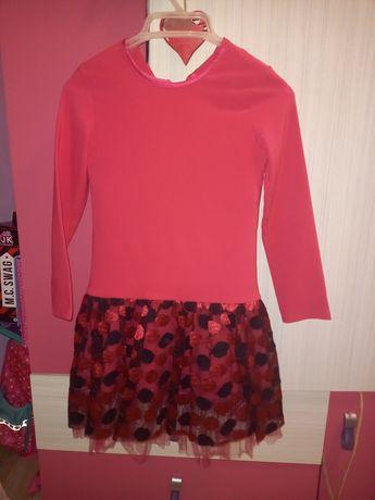 Sukienka różowa śliczna