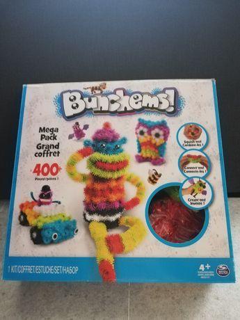Bunchems kolorowe rzepy 400 elementów