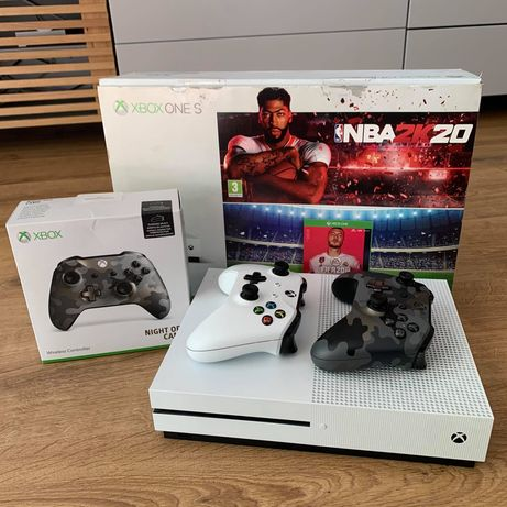 XBOX ONE S 1TB + 7 gier