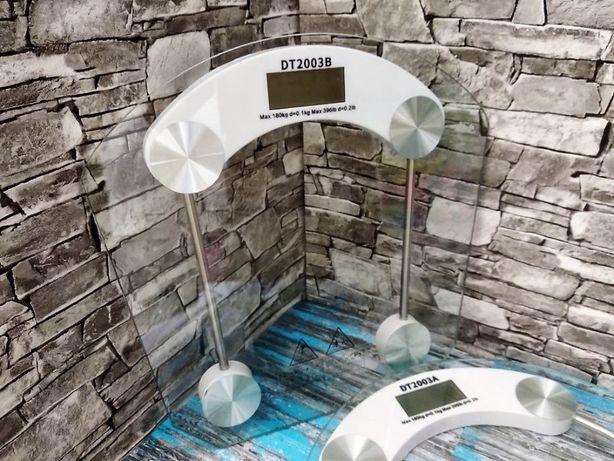 Весы напольные D&T стеклянные до 180 кг точный вес