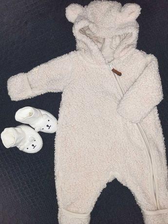 ДетскаяЗимняя одежда девочка,мальчик.теплый зимний Человечек H&M 0-3
