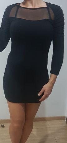 Tuniko-sukienka sweterkowa