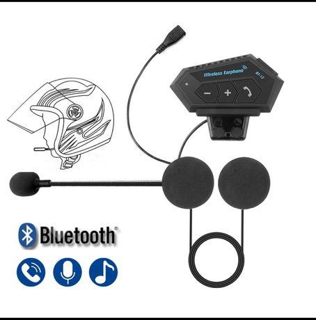 Bluetooth intercomunicador para capacete