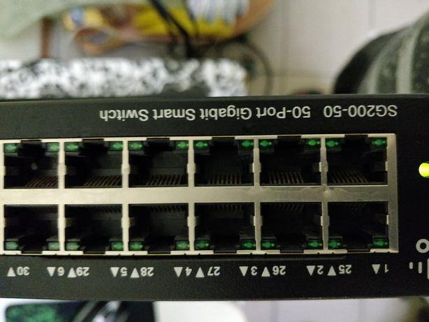 Коммутатор управляемый Cisco SG200-50