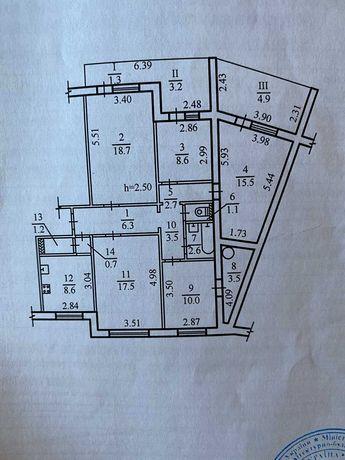 Продам квартиру Победа Макдональдс 110 м.кв  Цена метра 610 $