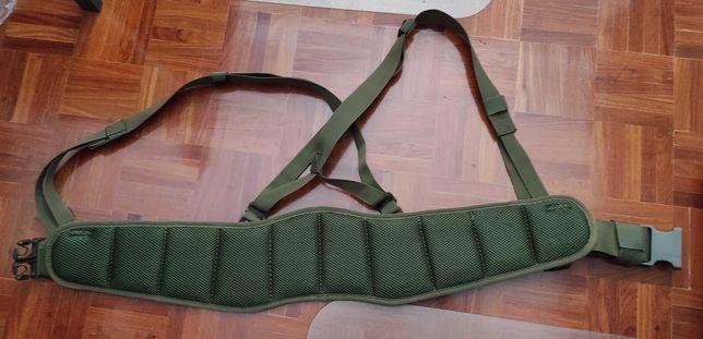 Cinturão com suspensórios para airsoft / caça