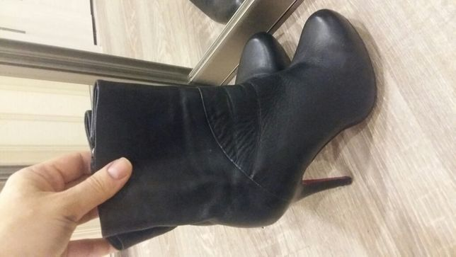 Ботильони кожание, ботинки демисезонние, черевички