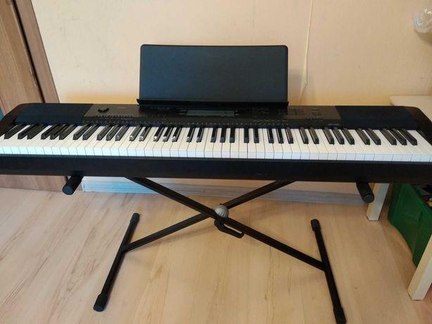 Pianino CASIO hybrydowe z keyboardem + gratis.  Keyboard