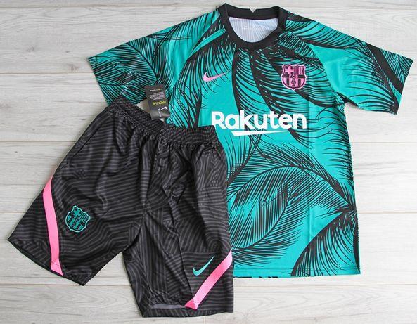 FC Barcelona zestaw NIKE Dry Pre Match 20/21, roz. L