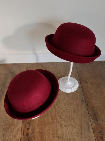 Шляпа для мамы и дочки фетровая детская