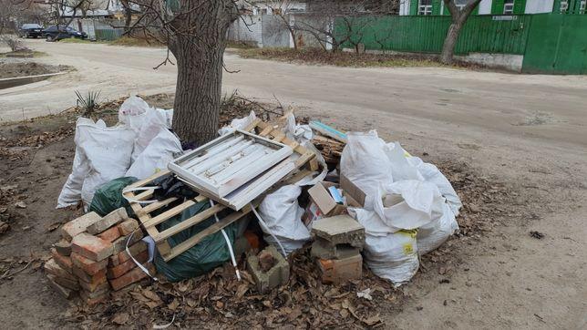 Вывоз любого мусора. Вывоз старой мебели, вывоз хлама из квартир