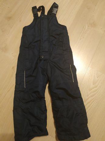 Spodnie ocieplane narciarskie zima 86/92