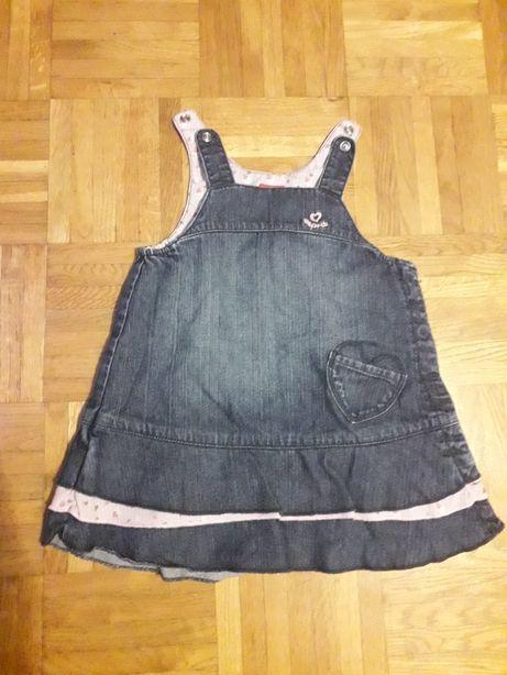 Sukienka jeansowa Esprit r. 80
