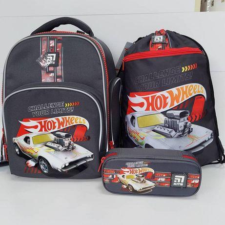 Школьный комплект, набор Kite Hot Wheels HW21-706S