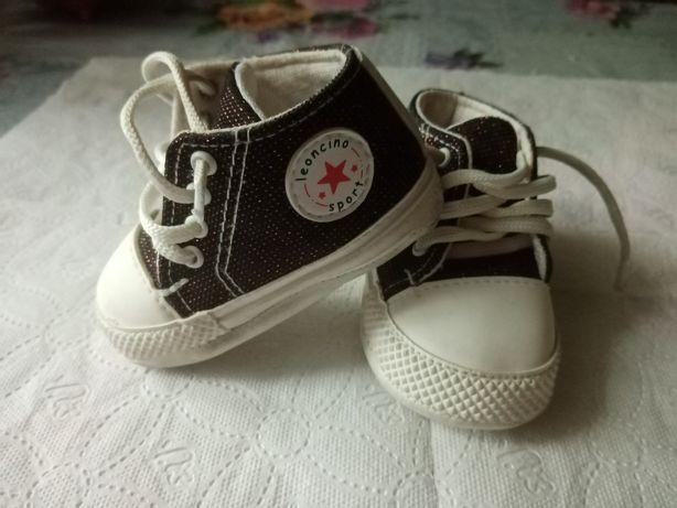 Buty niemowlęce chłopięce