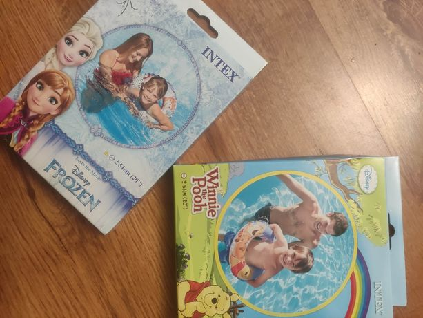 Круг для плавания Холодное сердце Эльза Frozen на 3-6 лет