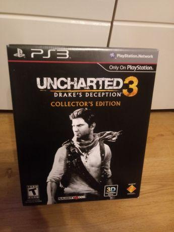 Uncharted 3 edycja kolekcjonerska ps3 jedyna w Polsce.