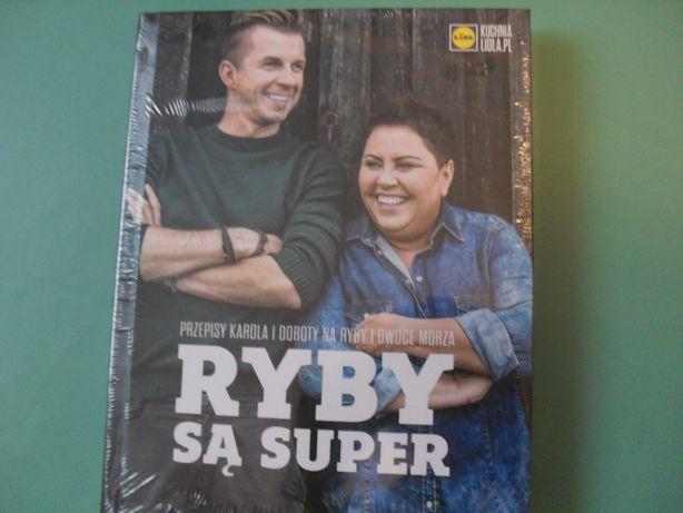 NOWA książka Ryby sa super Lidl