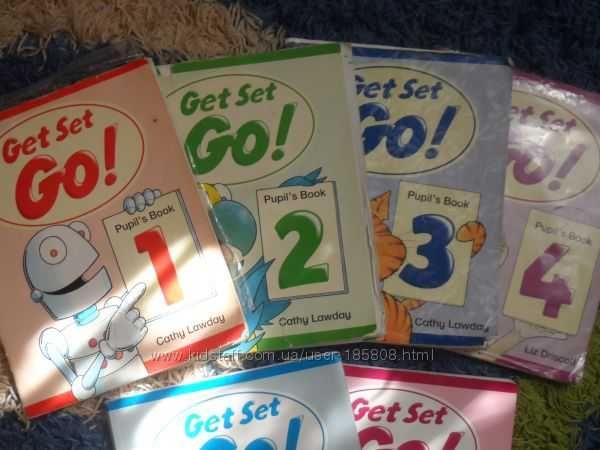 Комплект книг Get Set Go